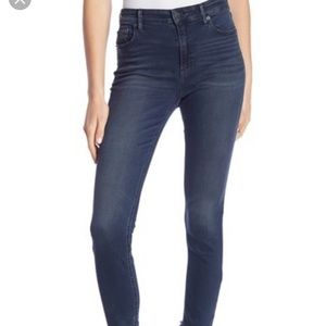 Bridgette high rise lucky brand jeans dark wash